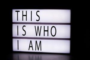 wer bin ich und wer möchte ich sein